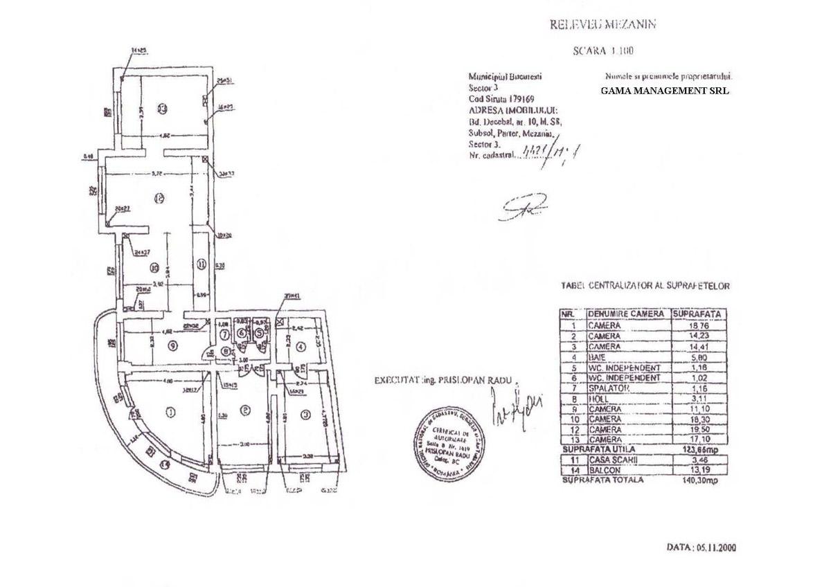 Spatiu comercial Bd. Decebal nr. 10, Bl. S8, sector 3
